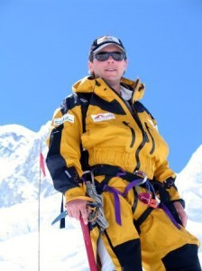 Will Cross on Mount Everest