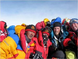 IMG Team at the Top of Mt. Everest