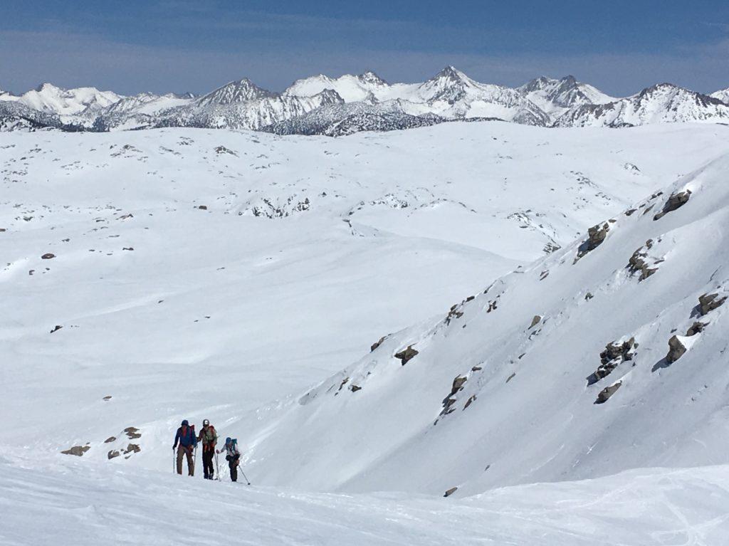 backcountry noridic skiing