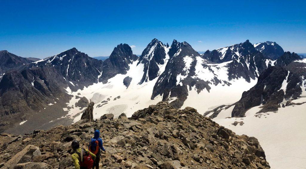 Gannett Peak descent