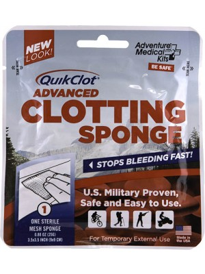 QuikClot® Advanced Clotting Sponge 25g.