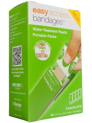 Easy Access Bandages™ Plastic, 60 Count
