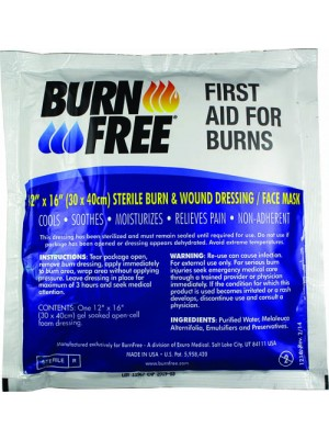 "BurnFree® BURN MASK 12"" X 16"""