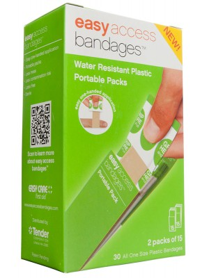 Easy Access Bandages® Plastic, 30 Count