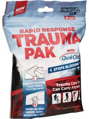Rapid Response Trauma Pak with Advanced Clotting Sponge