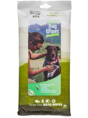 Adventure Dog Wipes, Pkg./8