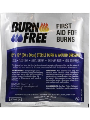 "BurnFree® BURN DRESSING 12"" X 12"""