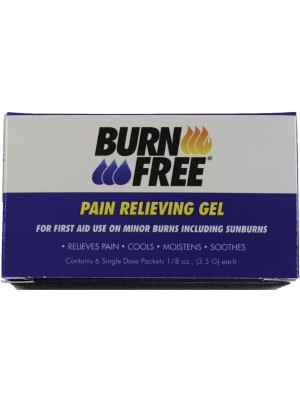 BurnFree® PAIN RELIEVING GEL (3.5gm) 6BX/100