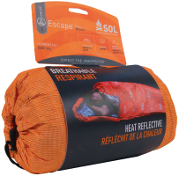 ESCAPE BIVVY - Combining breathability, body heat reflectivity, and water resistance for the most fully-featured backcountry emergency shelter.